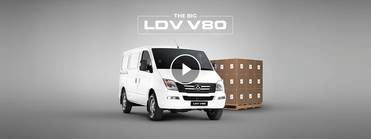 van v80 with video